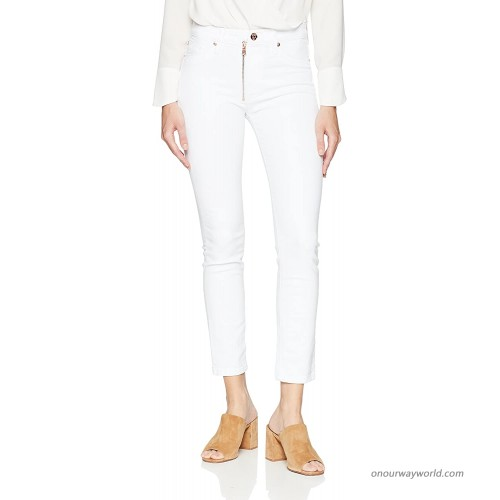 HUDSON Women's Barbara High Rise Super Skinny Fit Exposed Zipper Ankle Jean at  Women's Jeans store