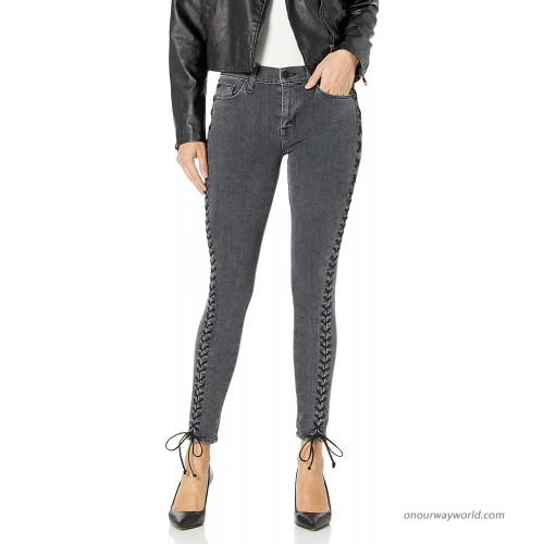 HUDSON Women's Stevie Lace Up Skinny Jeans at  Women's Jeans store