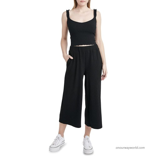 BCBGeneration Women's Knit Rib Crop Pant at Women's Clothing store