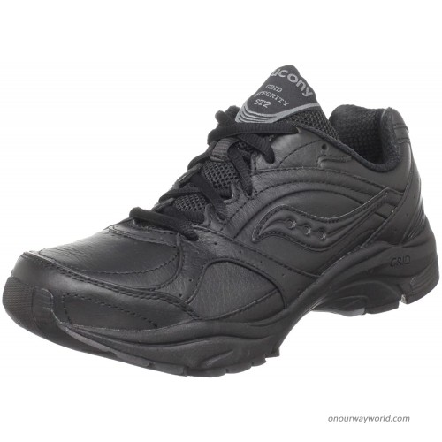 Saucony womens Progrid Integrity St 2 Blk Gry Walking