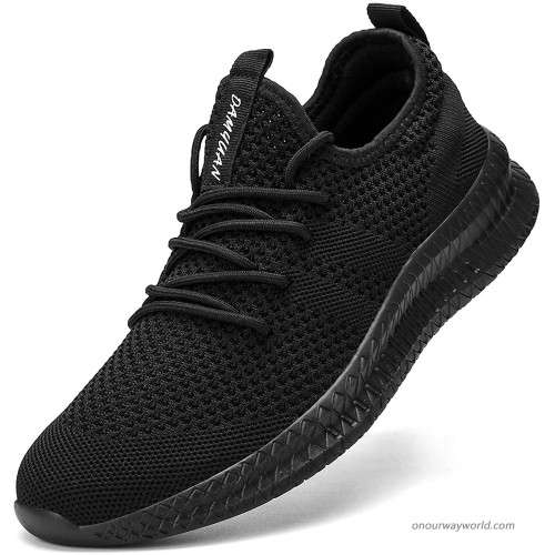 FUJEAK Women Walking Shoes Athletic Casual Road Running Breathable Fashion Sneakers Gym Tennis Lace Up Comfortable Lightweight Shoes Walking
