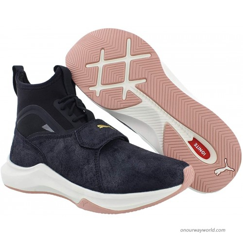 PUMA Womens Phenom Oceannaire Canvas Hight Top Lace Up Fashion Sneakers Fashion Sneakers