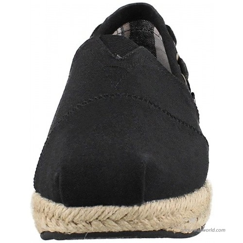 BOBS from Skechers Women's Highlights Flexpadrille Wedge Flats