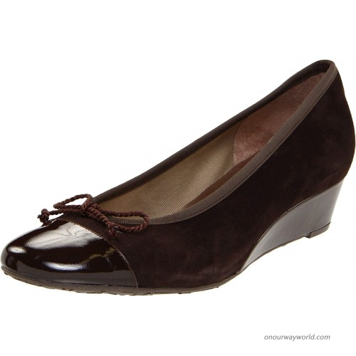 French Sole FS NY Women's Diverse Wedge Pump Pumps
