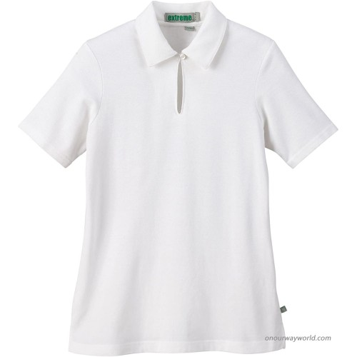 Ashe Xtream Women's Acty-75064-organic Cotton Pique Polo at Women's Clothing store