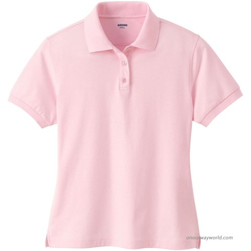 Ashe Xtream Women's Edry Double Knit Polo at  Women's Clothing store