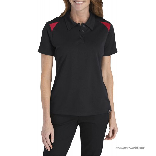 Dickies D-FS606 S.S. Womens Performance Shop Polo Work Shirt at  Women's Clothing store