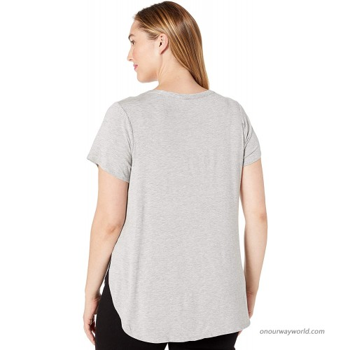 Instagirl Women's Plus Size Soft Knit Graphic Tunic at Women's Clothing store
