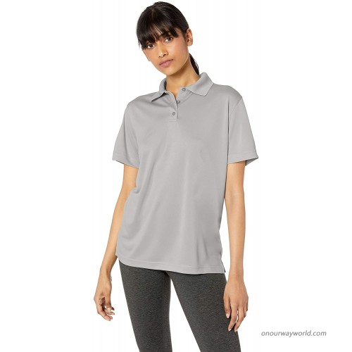 UltraClubs Women's ULTC-8404-Cool & Dry Mesh Sport Polo Kelly Small at  Women's Clothing store