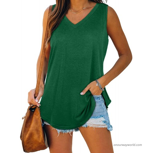 Ruffle Floral Short Sleeve Tank T Shirts Women Henley Blouse Summer Button Tunic Tops at Women's Clothing store