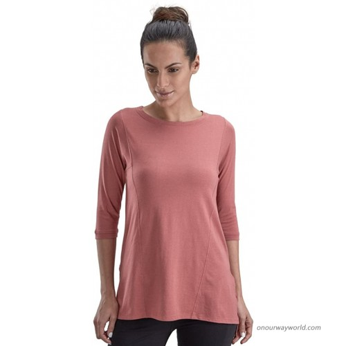 PROYOG Women'S Yoga Tunic Small Salmon at  Women's Clothing store