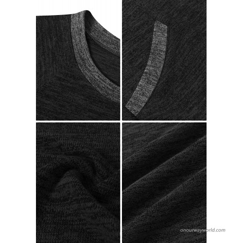 TYQQU Womens Color Block Short Sleeve Sweatshirts Casual Loose Fit Crewneck T Shirt Tops Blouse at Women's Clothing store